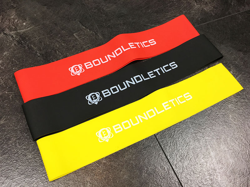 Fitnessband Test Boundletics 3er Set Loop-Bands Gesamtansicht
