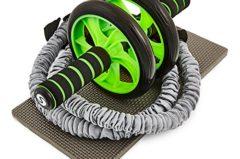 """Bauchtrainer Test: Premium Bauchtrainer Roller """"Extreme Ab Roller"""""""