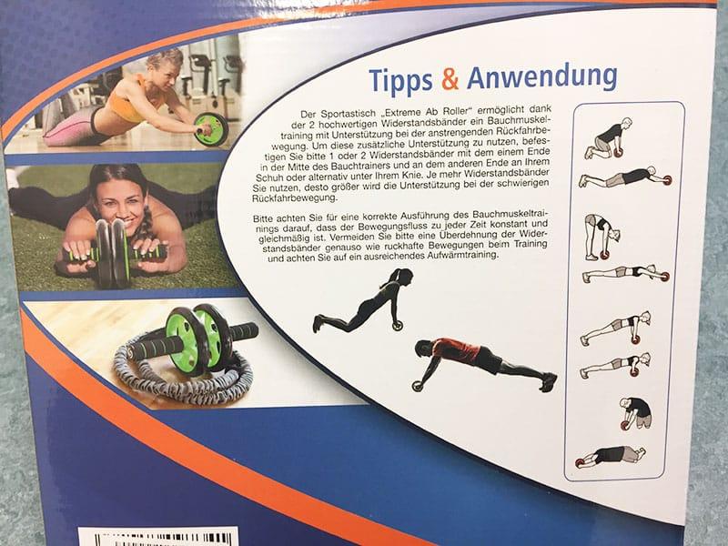Bauchtrainer Test Sportastisch Extreme Ab Bauchtrainer Roller Anwendung Bauchtrainer Übungen