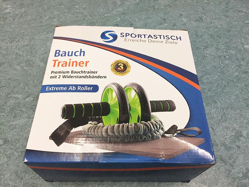 Bauchtrainer Test Sportastisch Extreme Ab Bauchtrainer Übung Verpackung