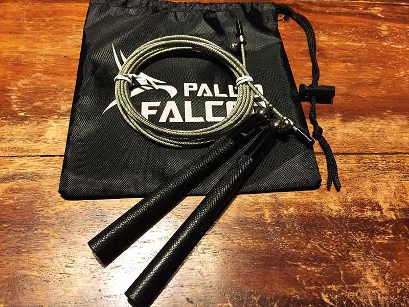Speed Rope Test Pallid Falcon Aluspringseil Lieferumfang