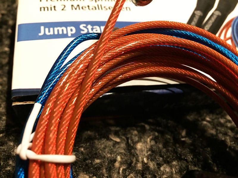 Springseil Test Sportastisch Jump Star Nahansicht Seile