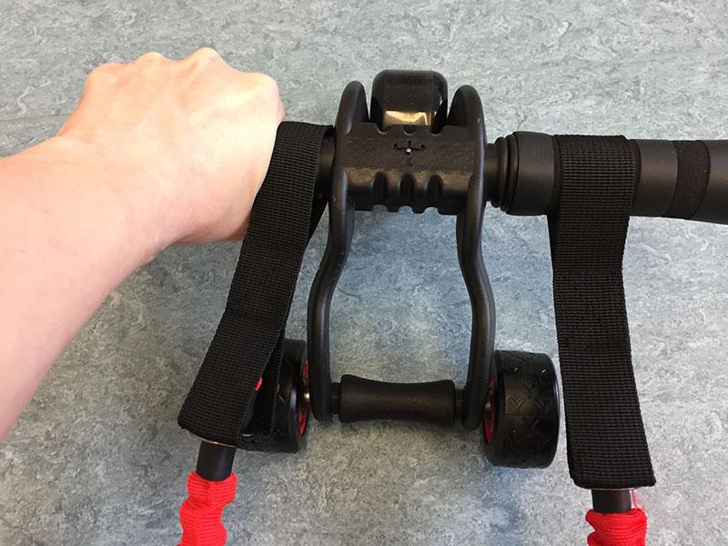 Bauchroller Test 3 wheeler Sportastisch kaufen Training Bauchtrainer Training