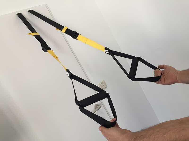 Schlingentrainer Test Schlingentrainer kaufen Sportastisch Schlingentrainer Handgriffe