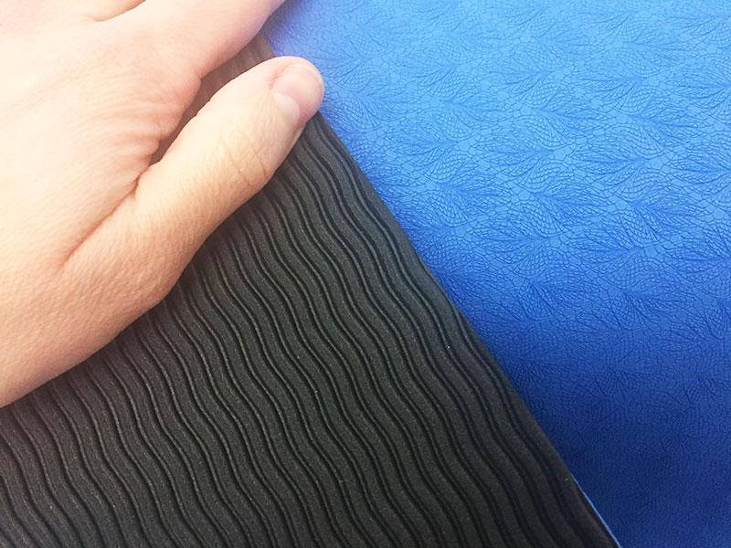 Yogamatte Test Yoga Star Sportastisch Closeup Oberflaeche Yogamatte kaufen