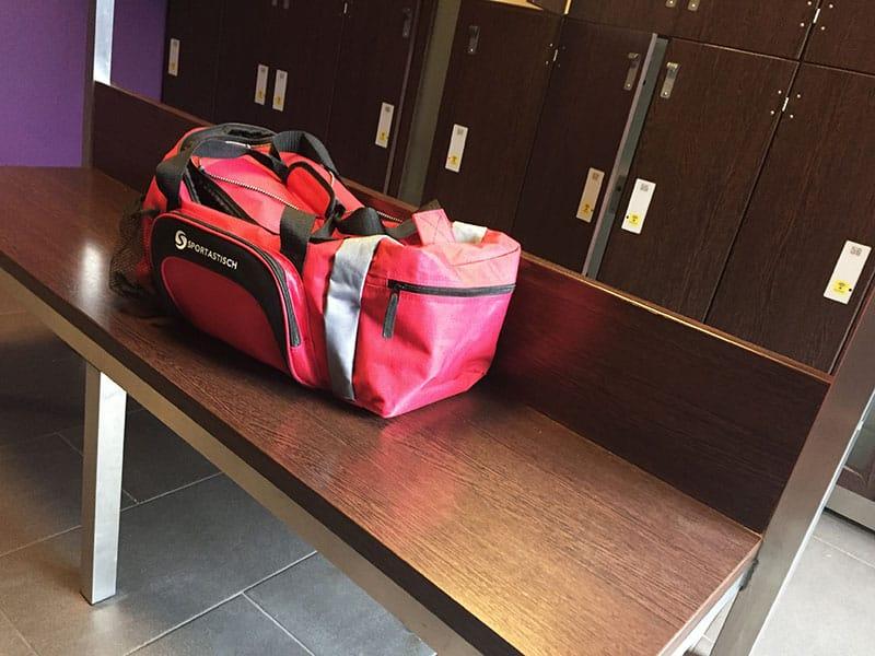 Sporttasche Test Sporttasche kaufen Sporttaschen in der Umkleide