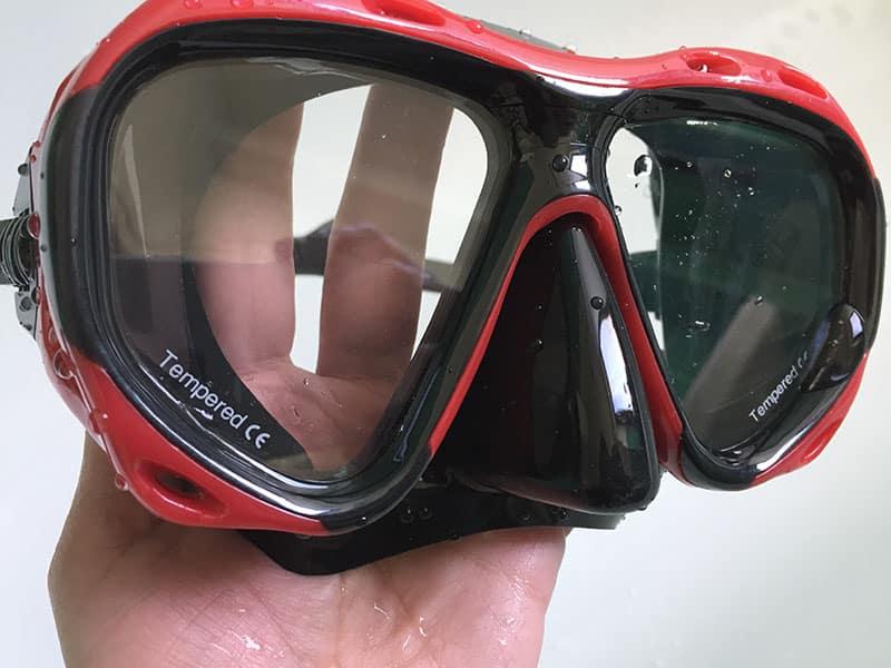Taucherbrille Test Taucherbrille kaufen Taucherbrille ohne Schnorchel Closeup