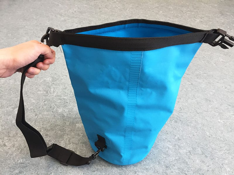 Dry Bag Test in Hand