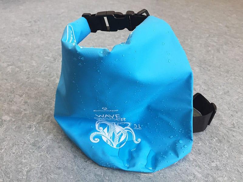 Dry Bag Test nass
