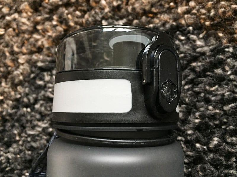 Premium Sport Trinkflasche Happy Fresh von Sportastisch Aussenverschluss