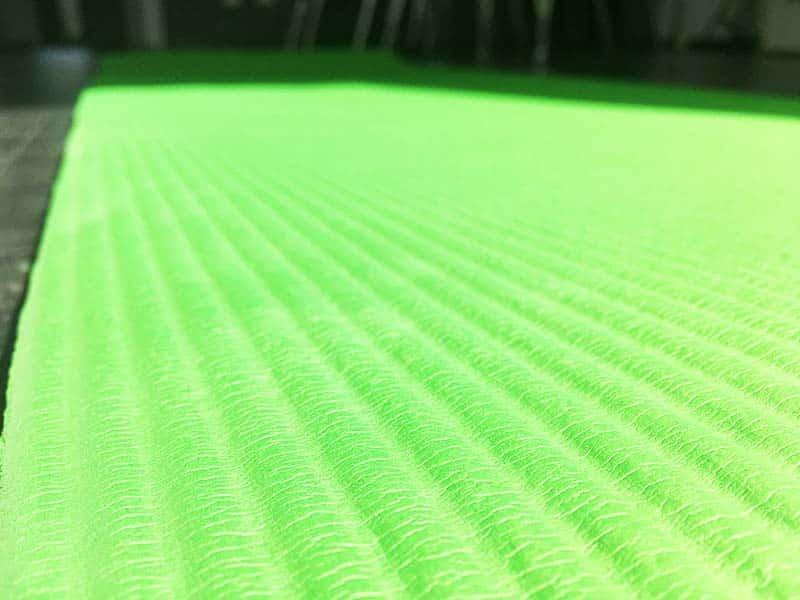 Yoga Matte Test Gym Mat Pro Sportastisch Oberflächenstruktur