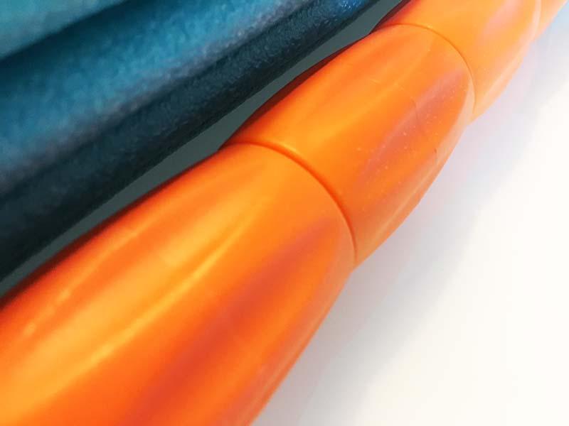 Faszienrolle Test Soft Roll Sportastisch Massageroller Detailansicht