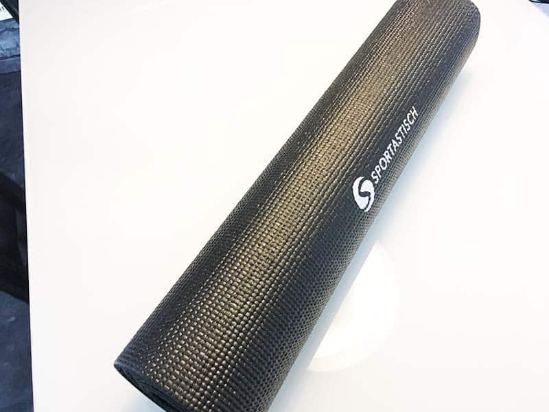 Yogamatte Test Happy Yoga Sportastisch Gesamtansicht quer