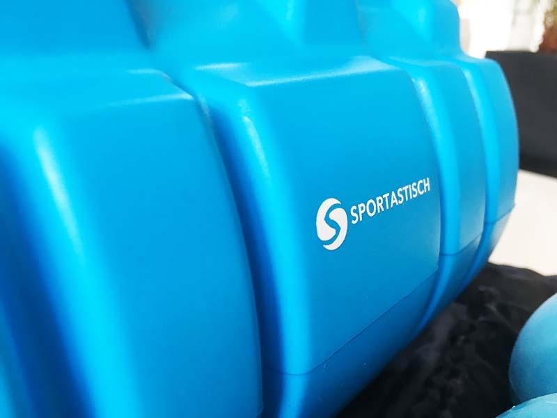Faszienrolle Test Sportastisch Let´s Roll Logo