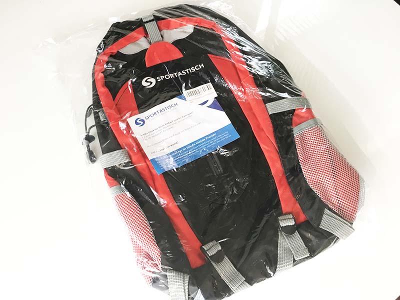 Sporttasche Test Sportastisch Sporty verpackt eingeschweißt