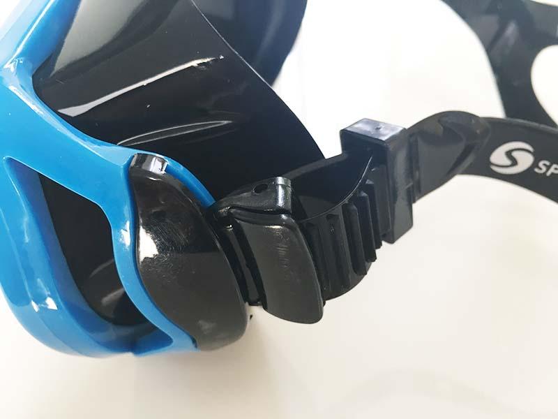 Taucherbrille Test Sportastisch Dive Under Verschluss