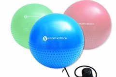 Sportastisch Massage Gym Ball mit Pumpe im Test
